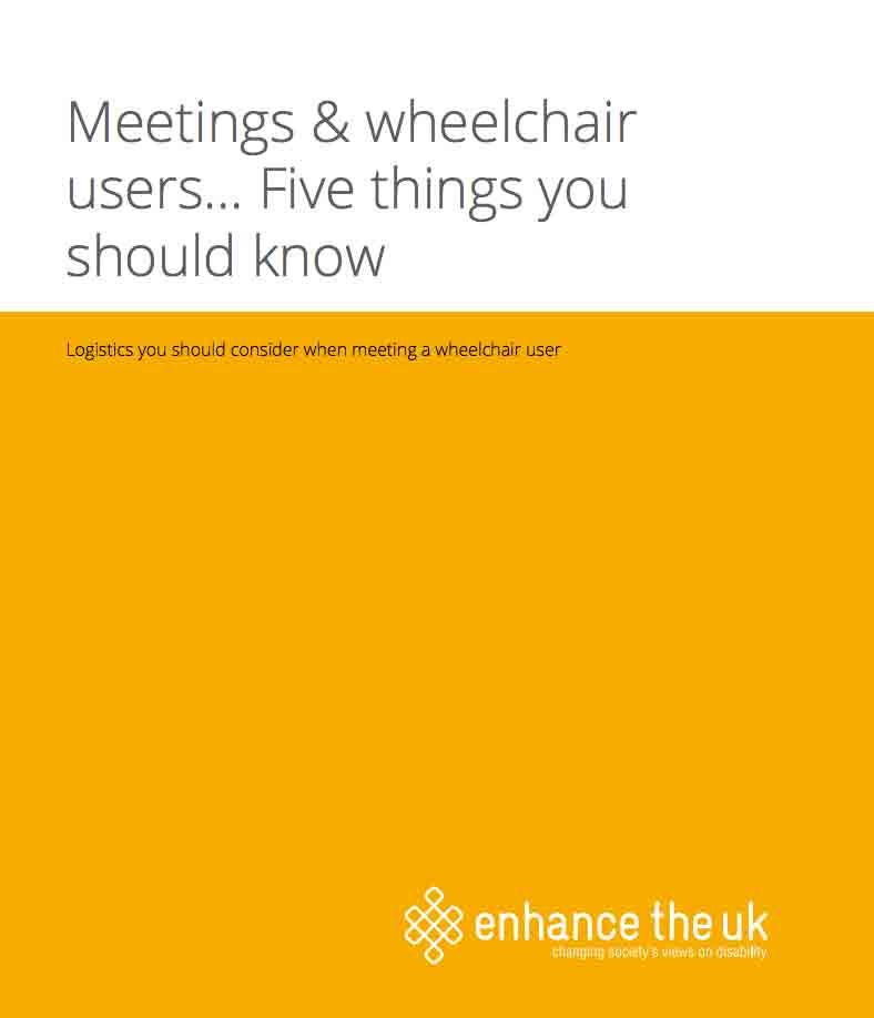 5 things you should know when meeting a wheelchair user