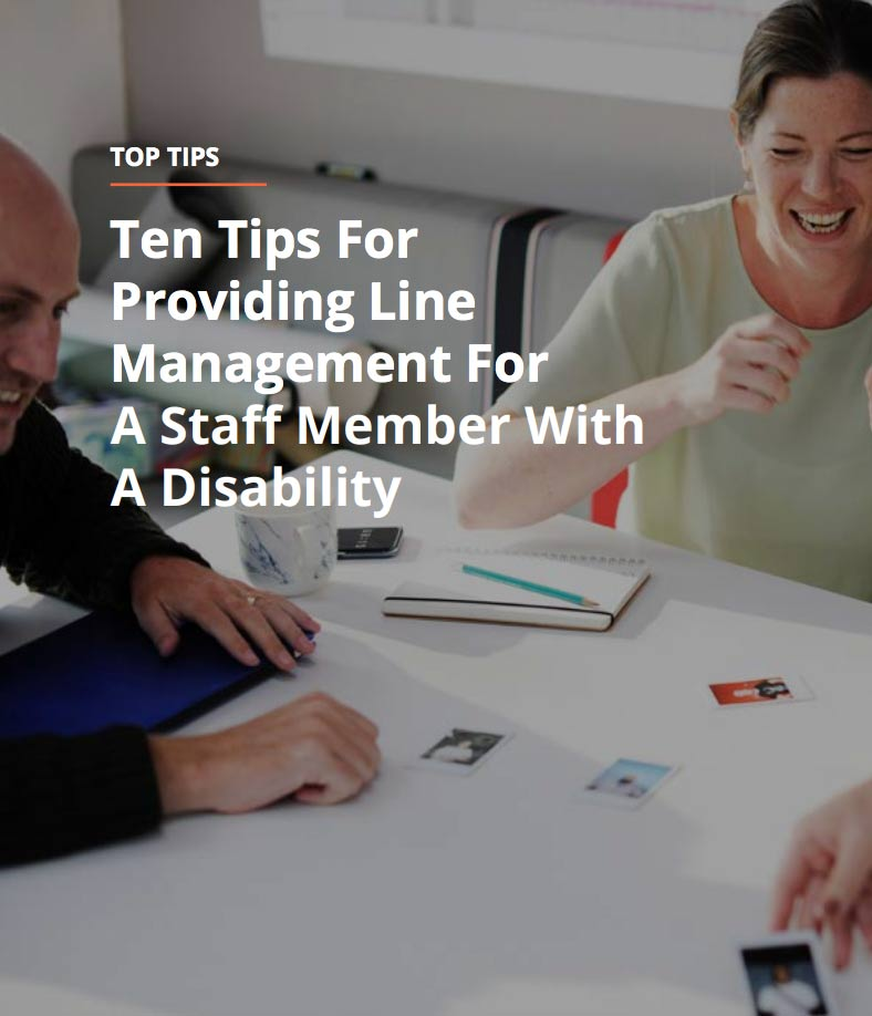 Top-ten-tips-for-providing-line-management-for-a-staff-member-with-a-disability